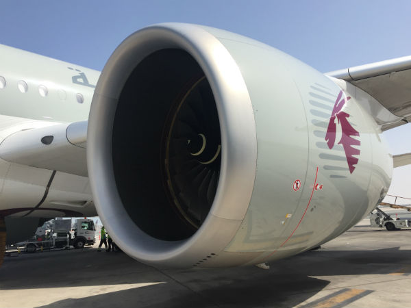 A350 moteur aeroport doha qatar airways