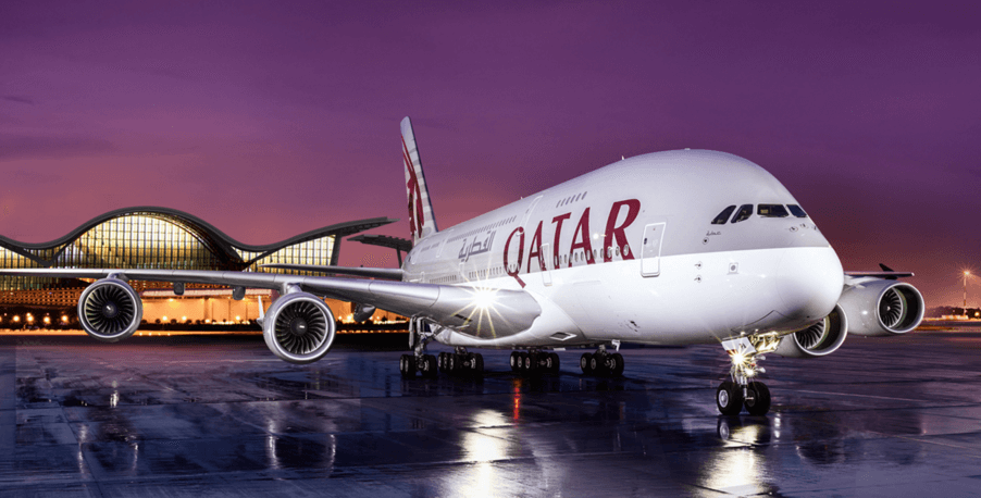 A380 Qatar airways