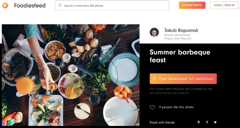 images nourriture gratuites