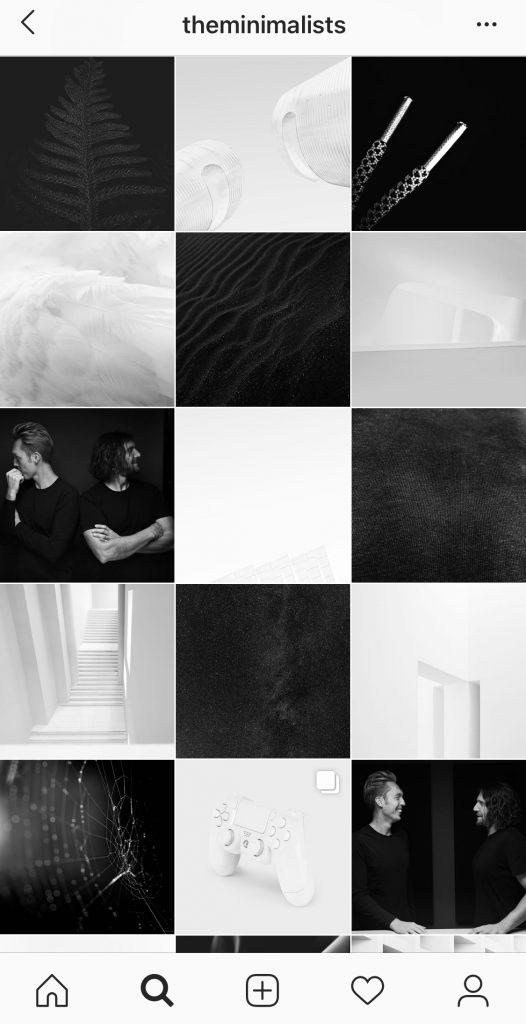flux organise pour instagram