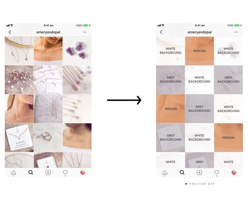 organiser un beau flux instagram