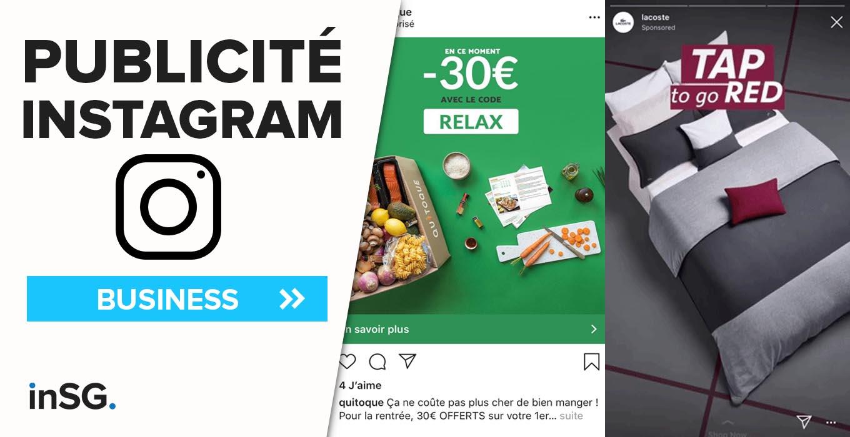 comment créer publicité sur Instagram ?
