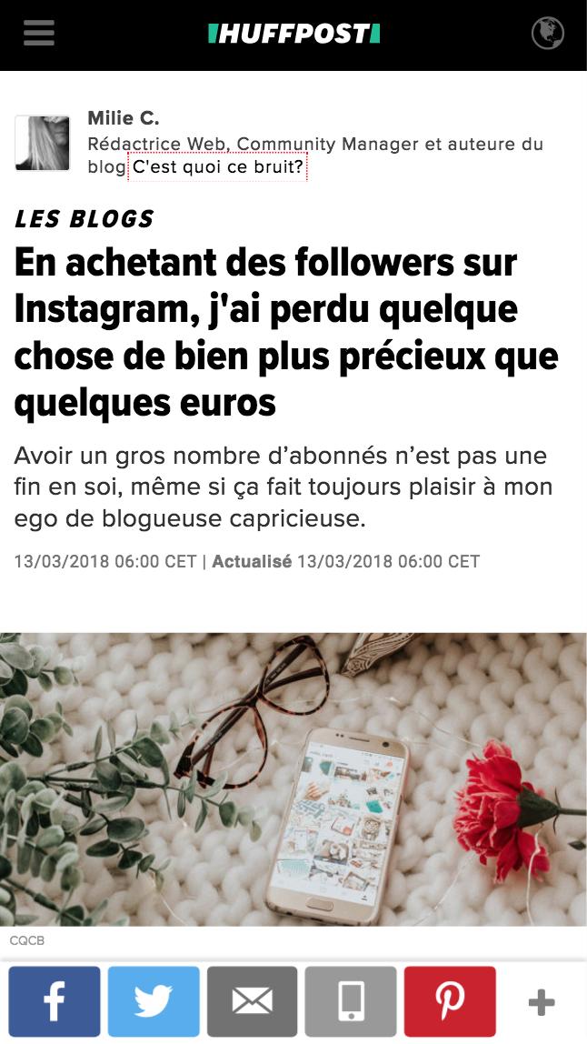 arnaque acheter des followers instagram