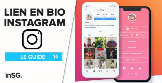comment changer lien bio instagram