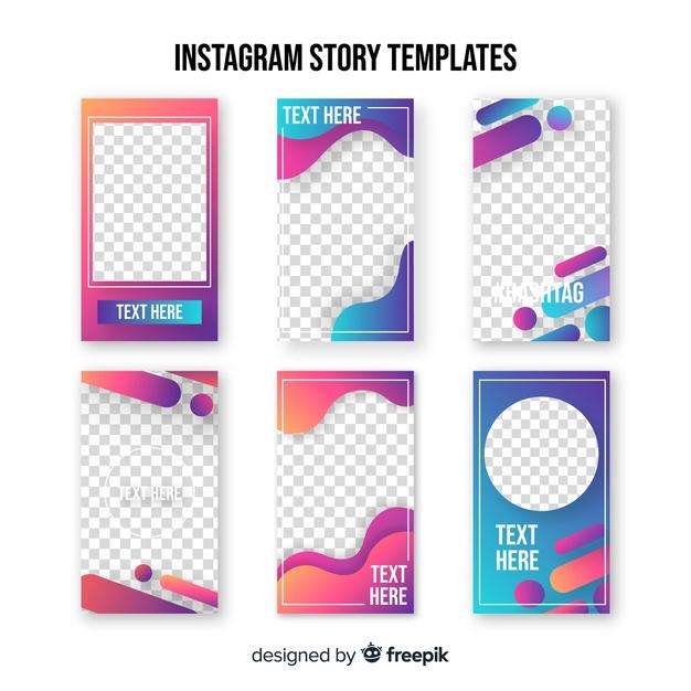 modèles et templates gratuit pour stories Instagram