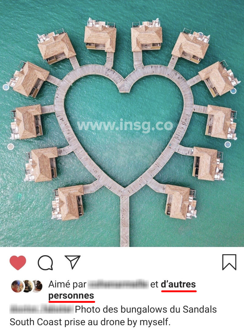 suppression des likes Instagram en France