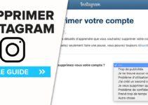 Tutoriel et méthode pour supprimer compte Instagram facilement