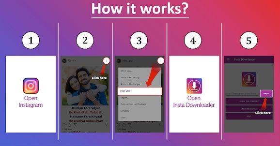 Comment télécharger des videos instagram sur Android avec un app ?
