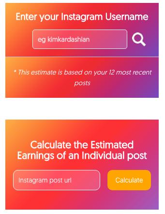 outil gratuit pour calculer le prix d'un influenceur
