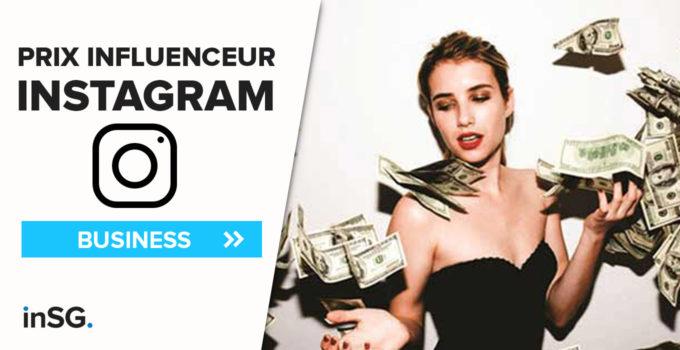 Quel prix payer un influenceur Instagram