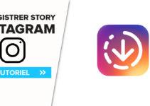 sauvegarder une story instagram