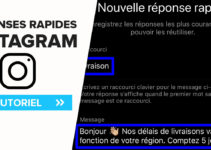 Réponses rapides Instagram, comment configurer des réponses types en Direct Message ?