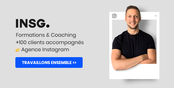 Coaching et formation Instagram sur mesure