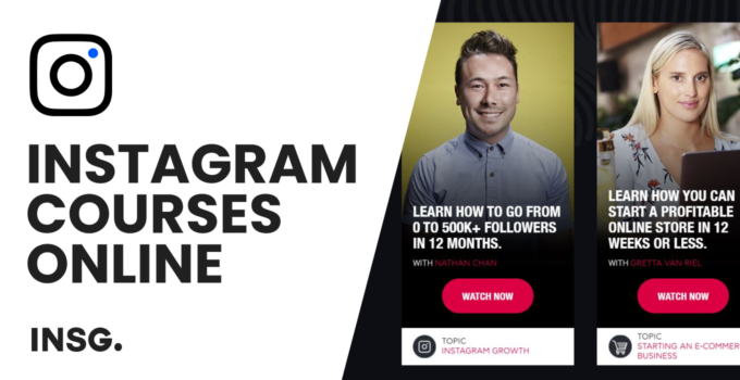 Best online Instagram courses for businesses in 2021: The Complete List