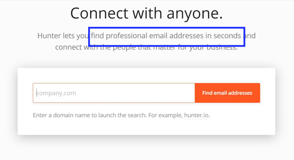 Hunter is an email discovery tool that can be used to find influencer email contacts too