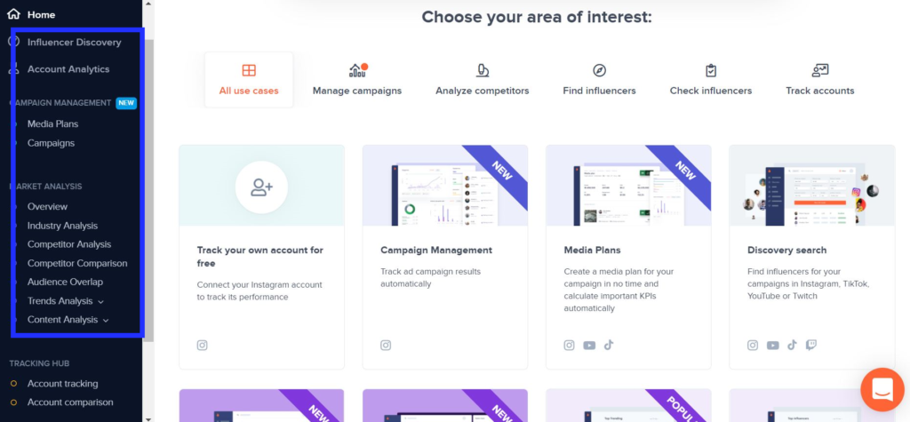 Hype Auditor is an Instagram influencer marketing tool with holistic features