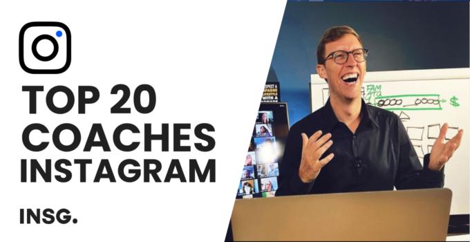 Top 20 Instagram Marketing Coaches in 2021 – Best Instagram Expert Advice for Businesses & Entrepreneurs