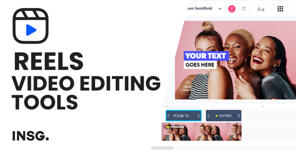 List of Instagram Reels editing tools, free and paid